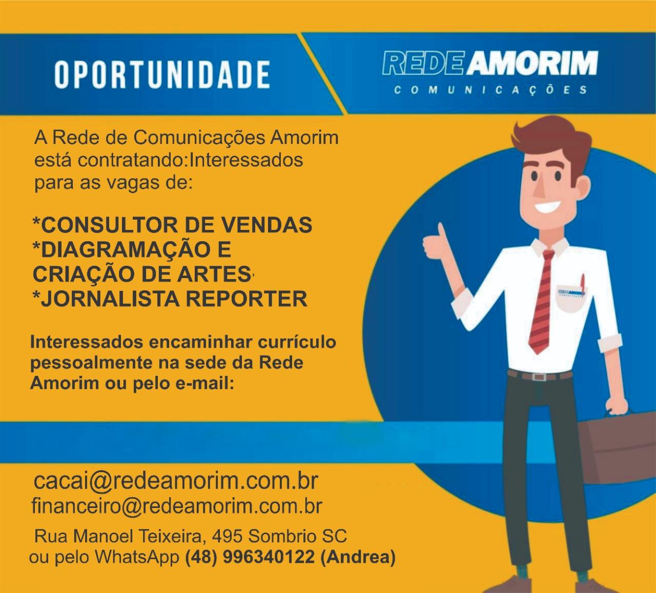 Oportunidade - Rede Amorim